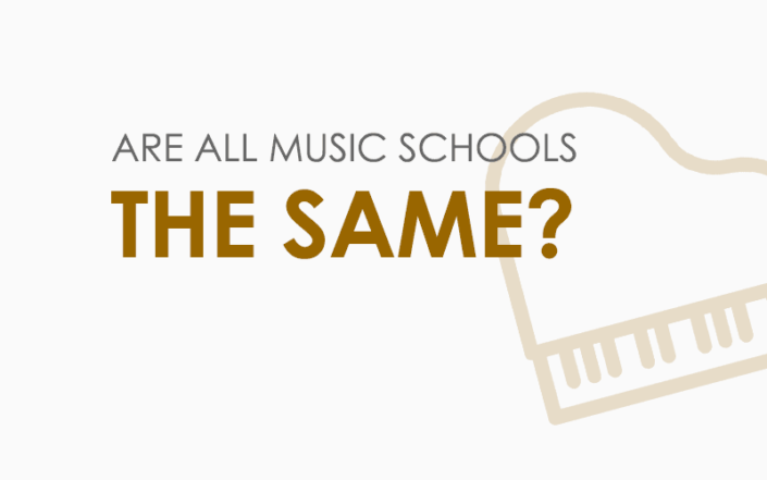 Are all music schools the same?