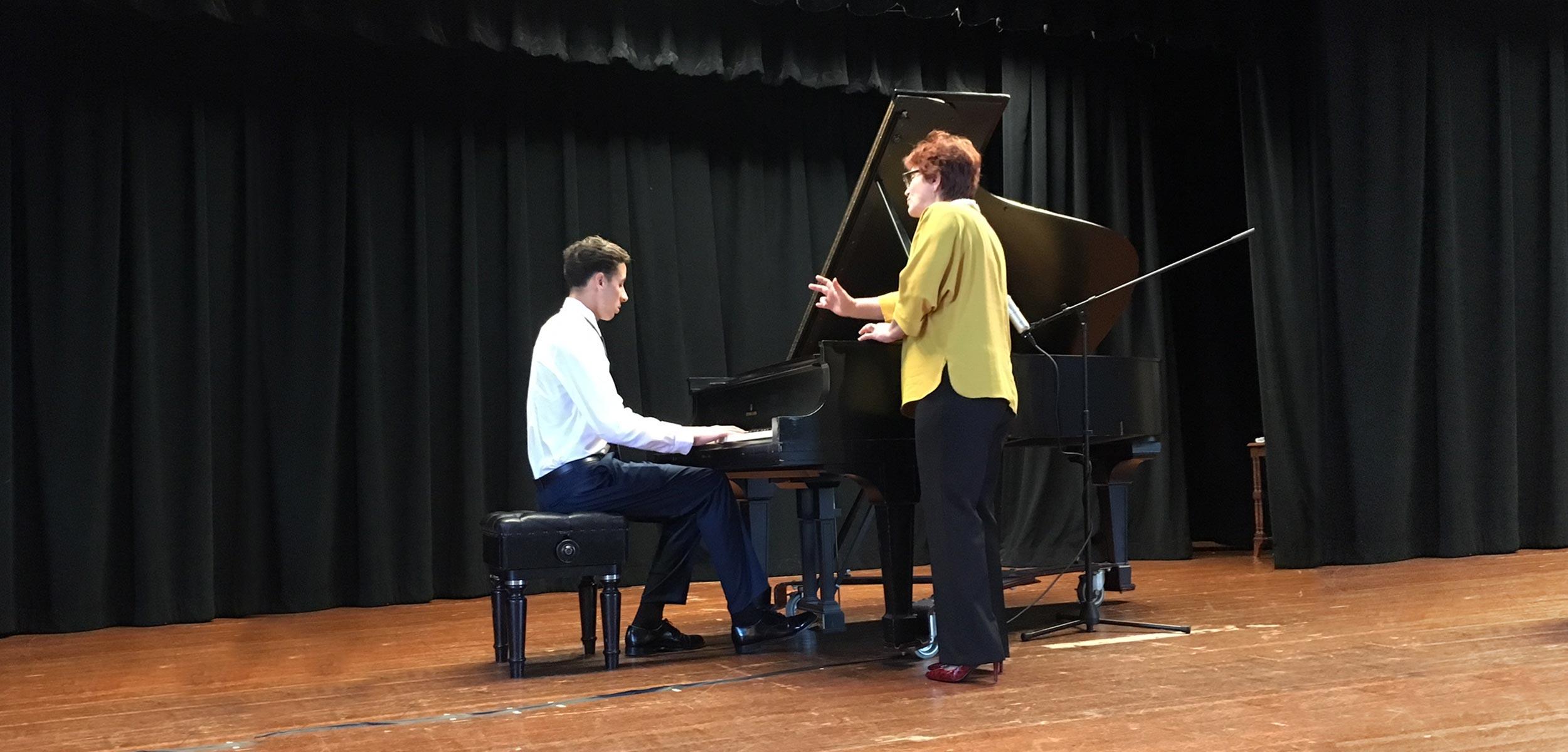 Piano lessons Berkeley